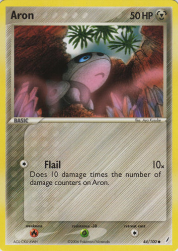 POKEMON 58//95 stollunior-Reverse Holo