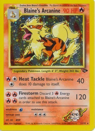 Near Mint Pokemon Pro Arcanine No Rarity Lv Japanese CD Collection Promo 34