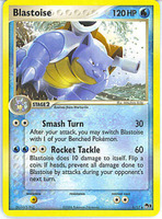 14//100 - Blastoise 2007 Nationals Rare NM Promo Pokemon 3DY