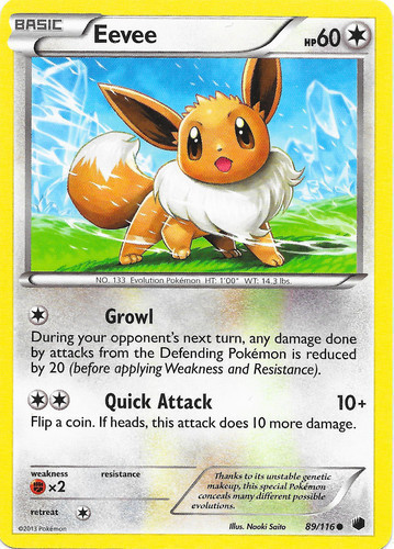 NM Pokemon General Mills Holo EEVEE Card SUN AND MOON Set 101//149 Cereal Promo