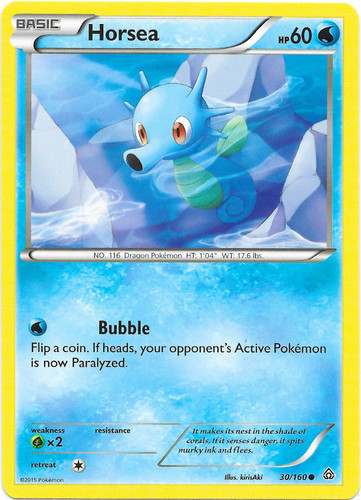 Carte Pokemon MISTY/'S HORSEA 86//132 Gym Hereos Wizard Near Mint