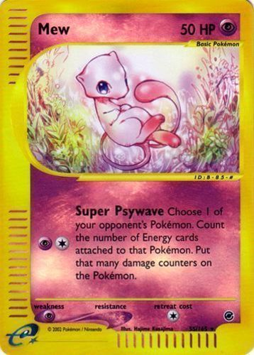 Mew Karte.Mew Prices Pokemon Card Prices