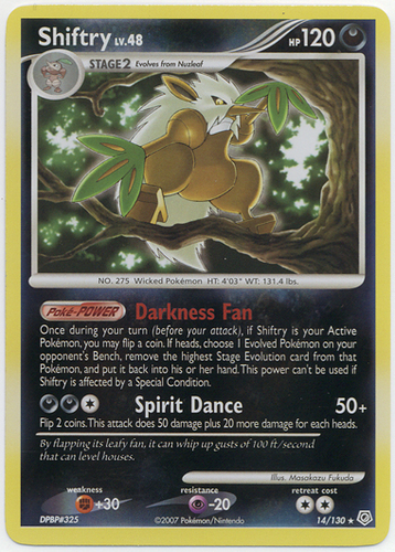 Shiftry 73//122 BREAKpoint Rare Mint Pokemon Card