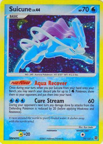 Suicune Pokemon Card Images | Pokemon Images