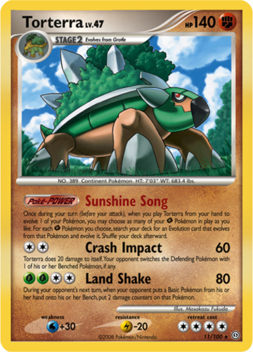 Pokemon Torterra Card | www.pixshark.com - Images ...